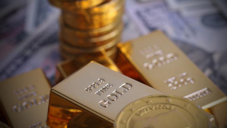 Златото тръгна нагоре в очакване на понижаване на лихвите в САЩ