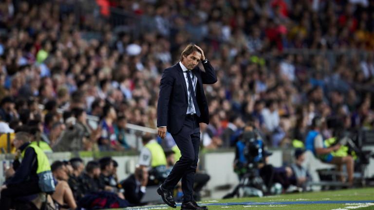Треньорът на Интер Антонио Конте говори преди утрешното домакинство на