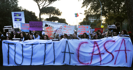 Протести блокираха кинофестивала в Рим