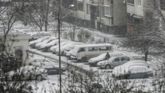 Цялата страна в оранжево и жълто заради сняг и силен вятър в сряда