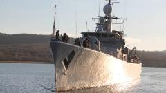 """Фрегата """"Верни"""" успешно приключи участието в операция на НАТО"""