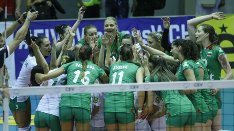 Волейболистките от националния отбор на България ще попаднат в една