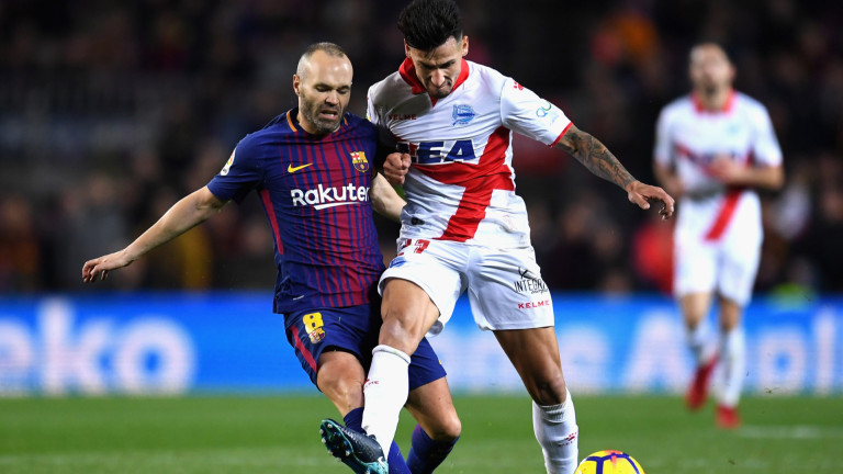 """Барселона потръпна срещу слабак на """"Камп Ноу"""", стигна до пълен обрат"""