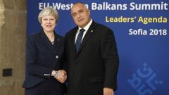 Мей опроверга в София, че остават в митническия съюз на ЕС след 2021 г.