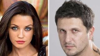 Диляна Попова и Асен Блатечки на съд за попечителство