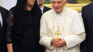 Бенедикт XVI прие Цачева и делегацията ни