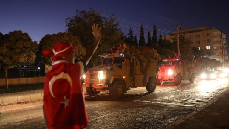 Арабско-кюрдските сирийски демократични сили са нападнали турската армия в Рас