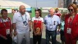 Министър Кралев: Възхитен съм от Елица!