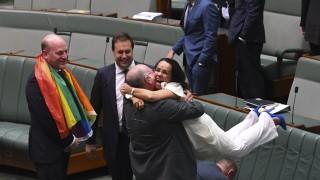 Австралия узакони гей браковете