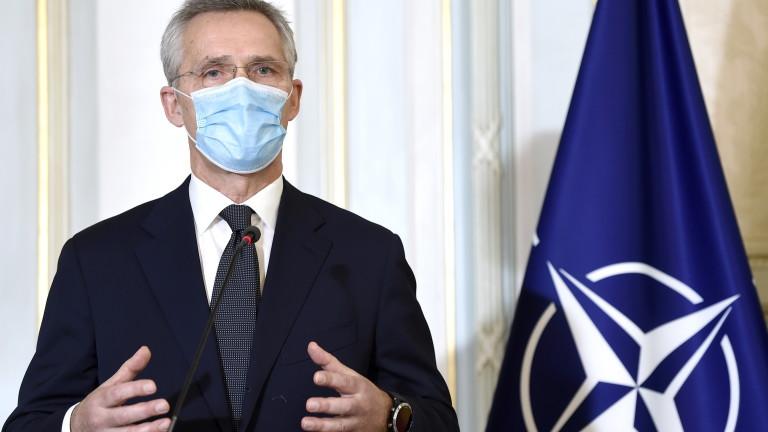 Подкрепа от НАТО за членството на Украйна в Алианса
