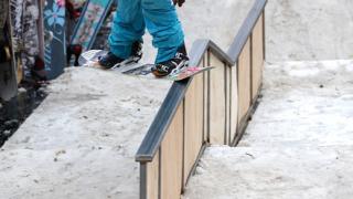 """Разръзката на най-голямото сноуборд събитие на България  """"Rail Strike 2008"""" (галерия)"""
