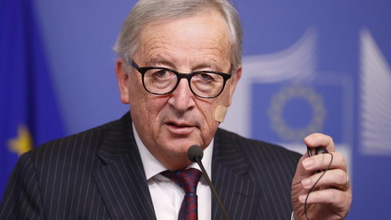 Председателят на Европейската комисия Жан-Клод Юнкер коментира, че страните от