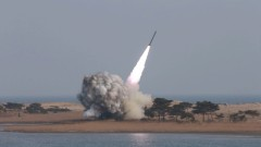 Северна Корея отново изстреля противокорабни ракети
