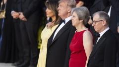 Тръмп и Мей в спор за Брекзит