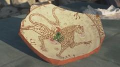 Откриха рисунка на барс от Волжка България в Русокастро