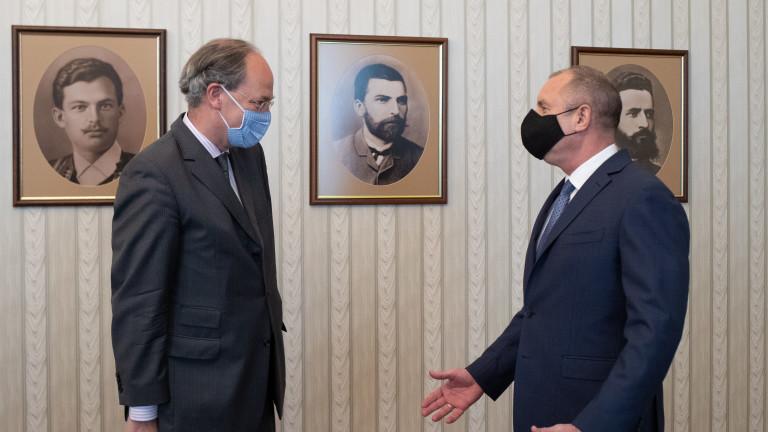Радев и германският посланик у нас обсъдиха двустранното икономическо партньорство