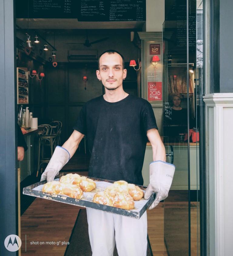 Венци, сладкар в Café Ma Baker от 5 години