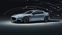 Rapide E - първият електрически автомобил на Aston Martin