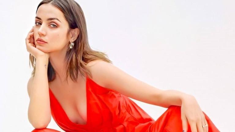Колко секси е Ана де Армас на корицата на Porter