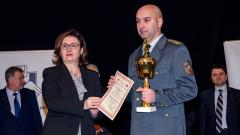 Главен инспектор Валентин Николов е Пожарникар на 2015 година