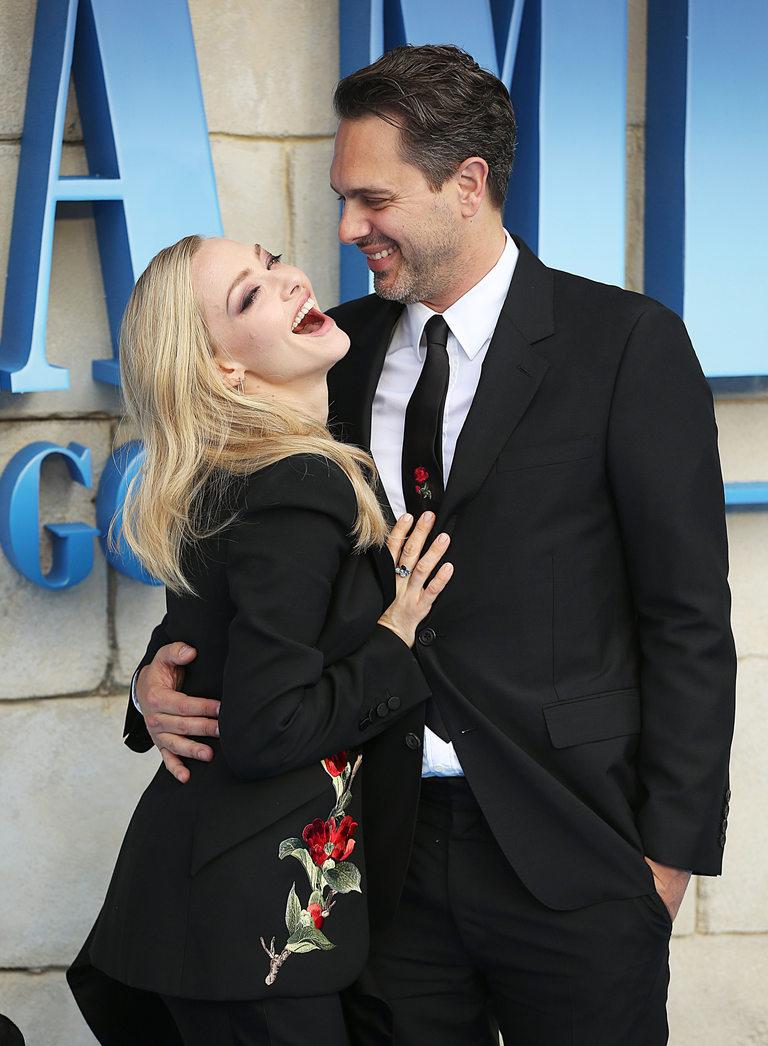 С настоящия си съпруг Томас Садоски
