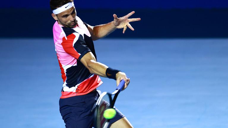 Григор Димитров се класира за полуфиналите на турнир от АTP