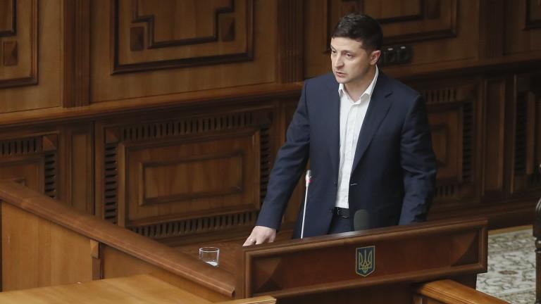 Партията на Зеленски получава мнозинство на парламентарния вот