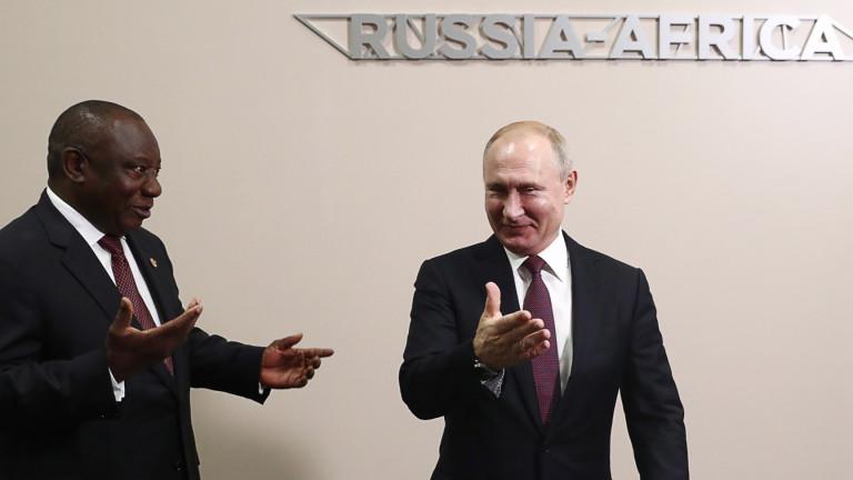 Руският президент Владимир Путин бе домакин на десетки лидери на