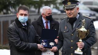 Комисар Николай Вълчев стана пожарникар на годината