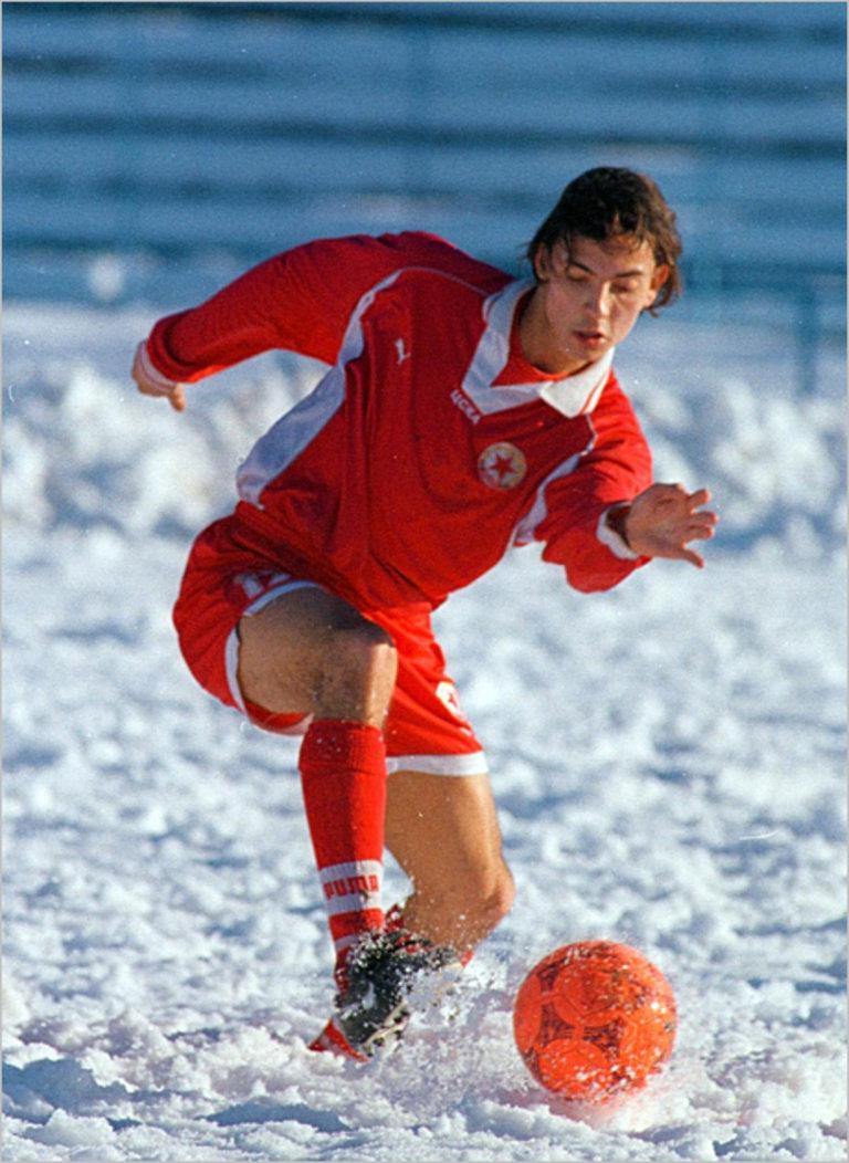Станислав Ангелов като обещаващ млад талант на ЦСКА