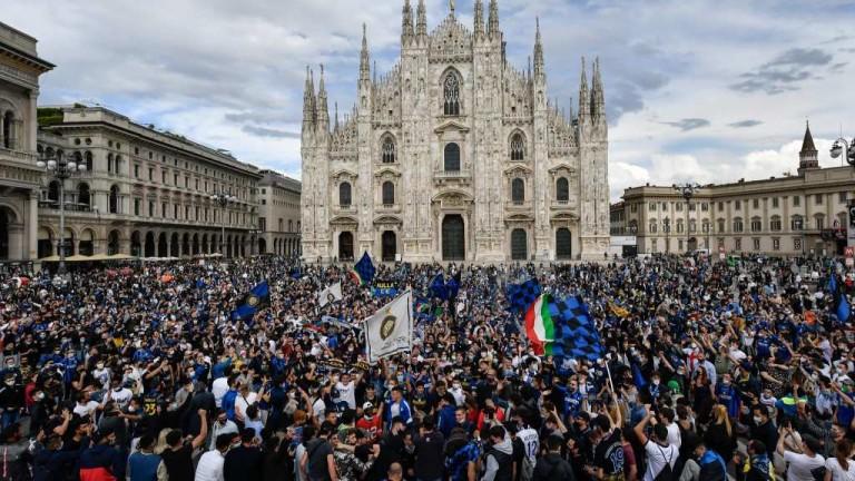 Интере шампион на Италия за 19-ти път. Скудетото предизвика истинска