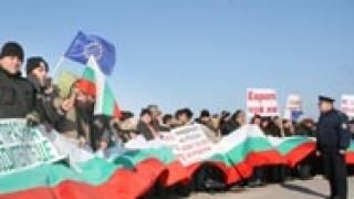МВР глоби тютюнджиите заради протеста