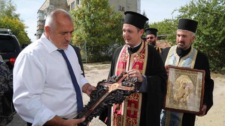 Правителството ще помогне за довършването на ремонта на православния храм