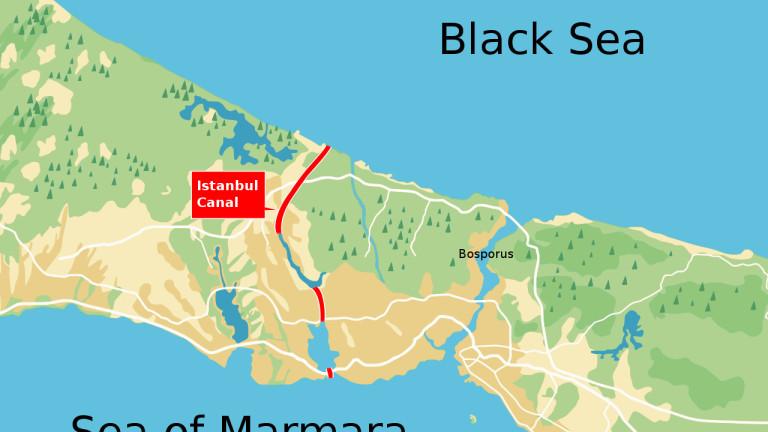 """Канал """"Истанбул"""" – ще има ли изкуствен дубликат на Босфора?"""
