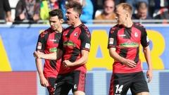 Фрайбург победи Байер (Леверкузен) и вече е 6-и в Германия