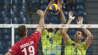 Българските волейболисти натупаха Словения в Краков