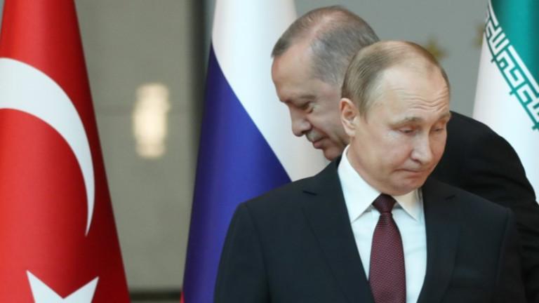 Ердоган критикува позицията на Русия за Африн