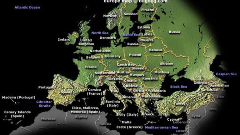 Interaktivna Karta Pokazva Vei Centralite V Evropa Money Bg