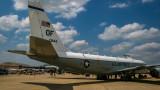 Американски разузнавателен самолет RC-135V Rivet Joint на руската граница?