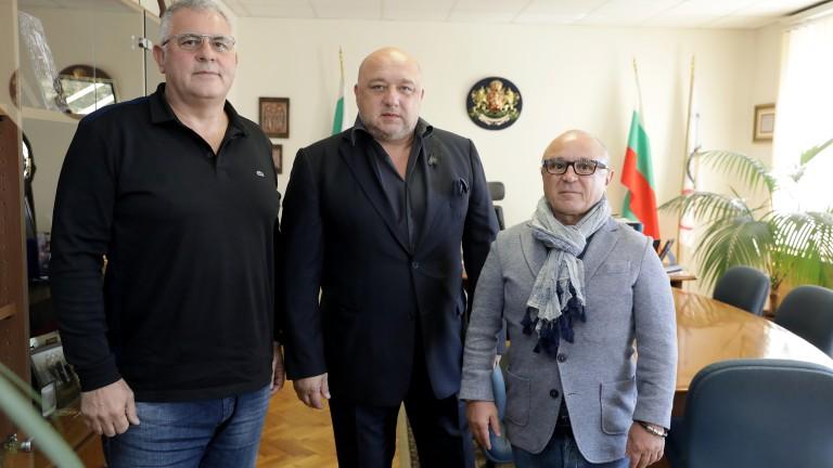 Красен Кралев проведе работна среща с новото ръководство на Българската федерация по джудо