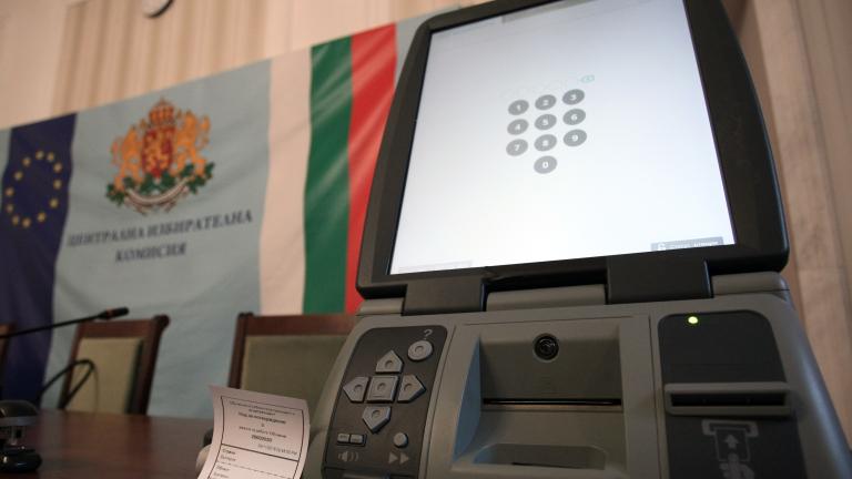 ЦИК сигнализира за проблеми с доставката на машините за гласуване