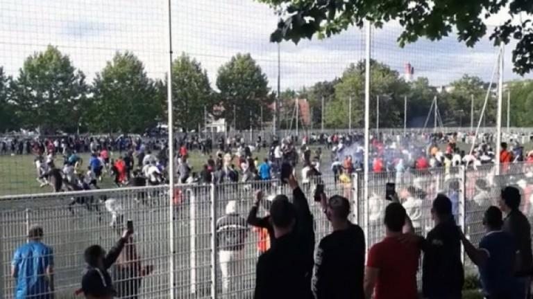 Във Франция гръмна голям скандал, свързан с футбола. Вчера два
