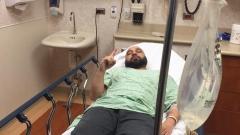 Камъни пратиха Мишо Шамара в болница