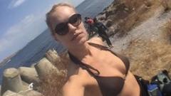 Ива Екимова се пусна по бански