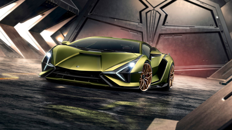 Lamborghini представи първия си хибриден спортен автомобил, наречен Sian. Новия