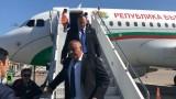 Борисов пристигна в Измир за откриването на ТАНАП