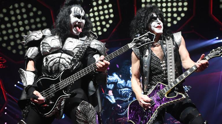 Американска рок група Kiss идва в България за концерт вАрена