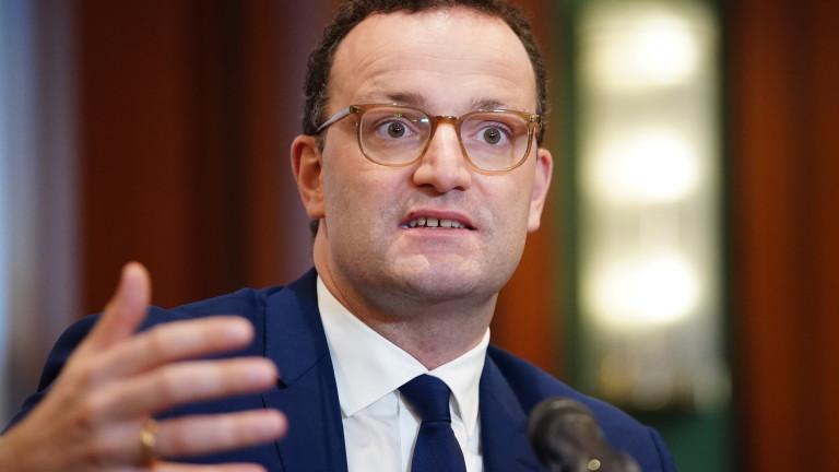 Министърът на здравеопазването Йенс Шпан е с положителен тест за