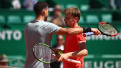 Очаквано: Григор Димитров отказа 1/4-финала на двойки в Монте Карло