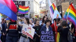 Босненската столица Сараево проведе първия гей парад
